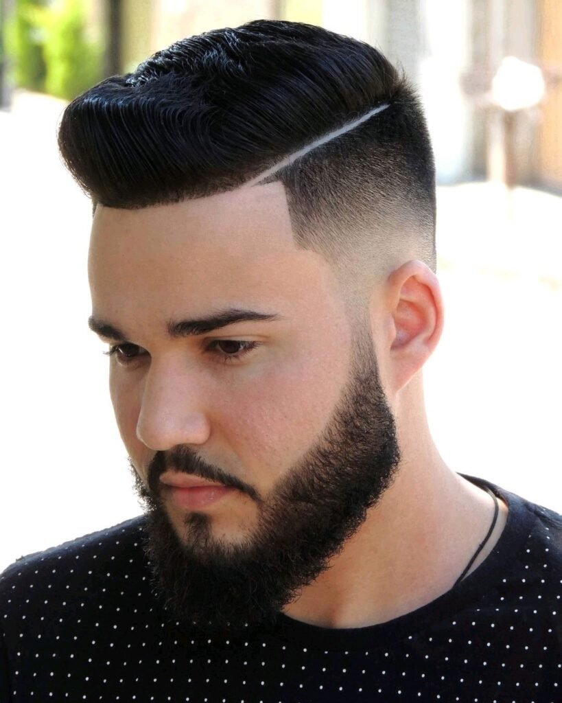 Slick Comb Over hairstyle