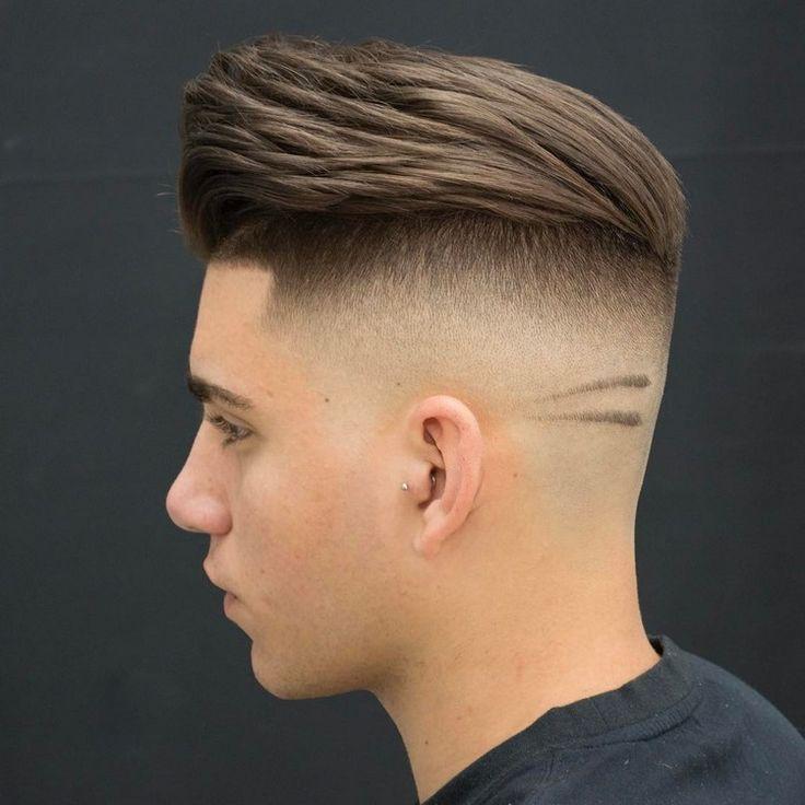 Slicked Back Undercut Fade Haircuts
