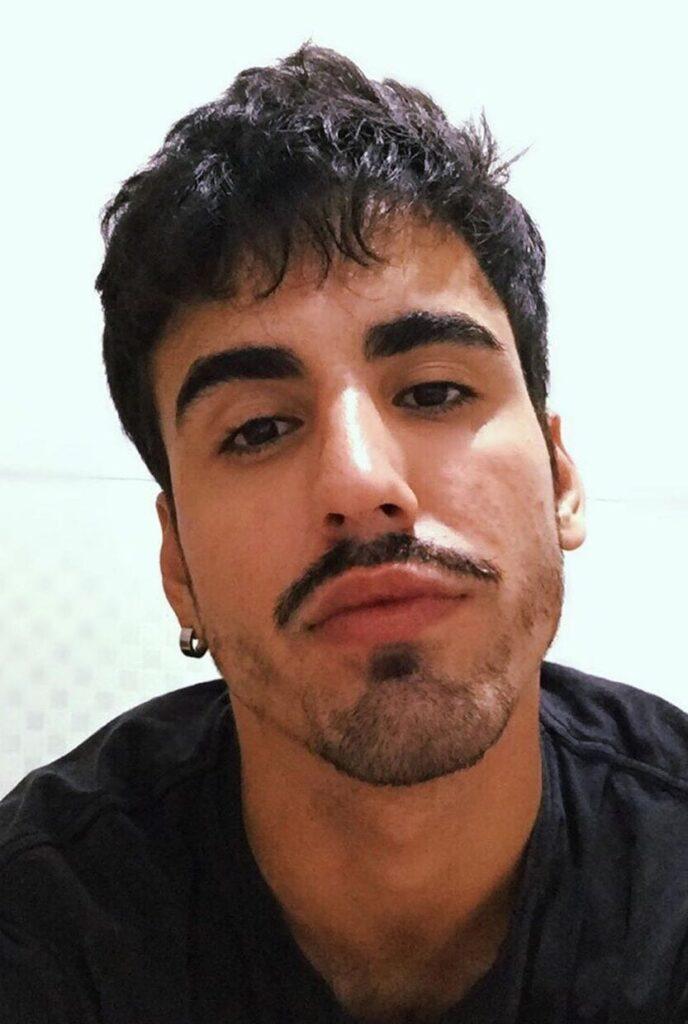Thin Mustache with Tapered Chin van dyke beard