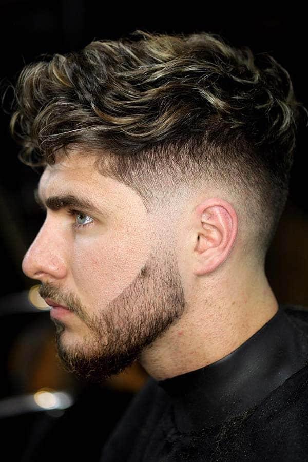 undercut-fade-haircut-curly-top