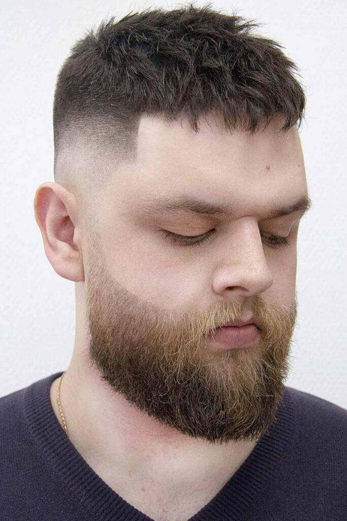 undercut-fade-short-messy-beard