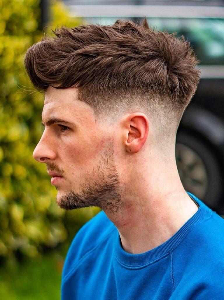 Undercut Low Fade Hair
