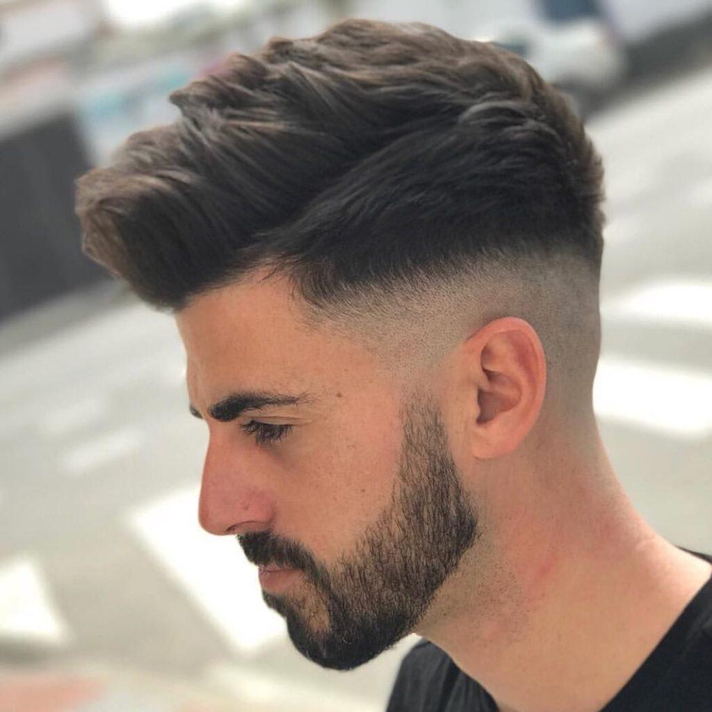 Undercut Mid Fade Hair