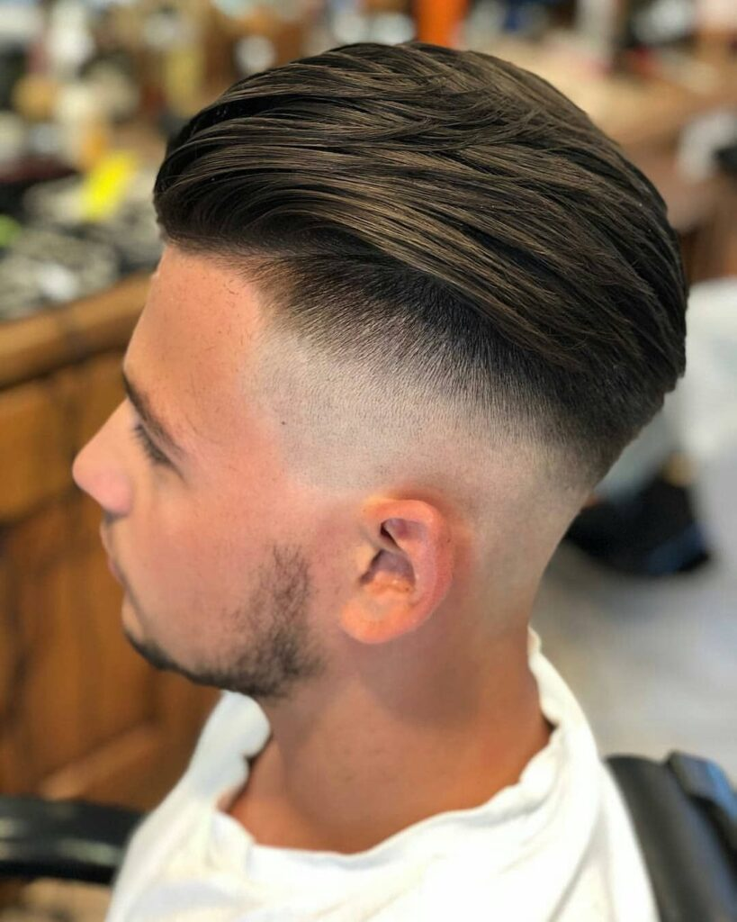 Undercut Mid Fade Haircuts