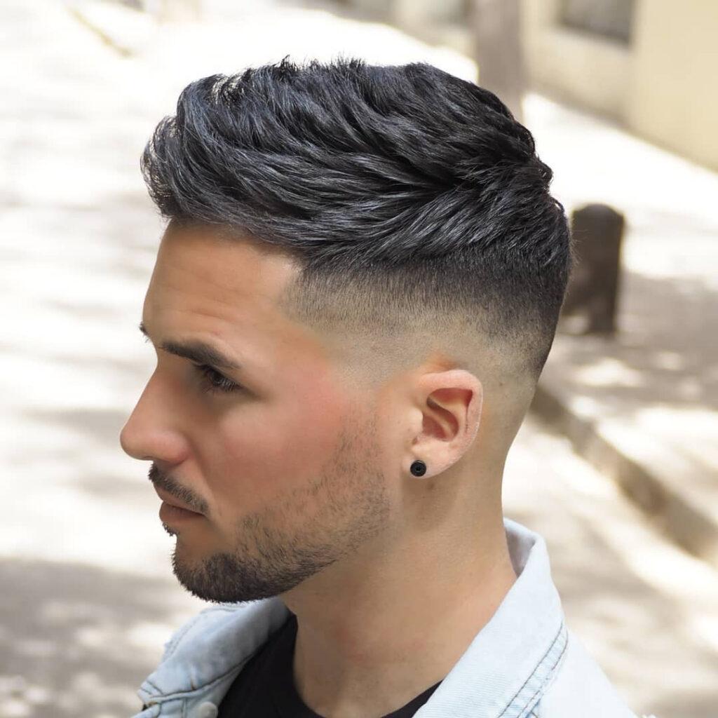 Undercut Taper Fade Mens Haircuts