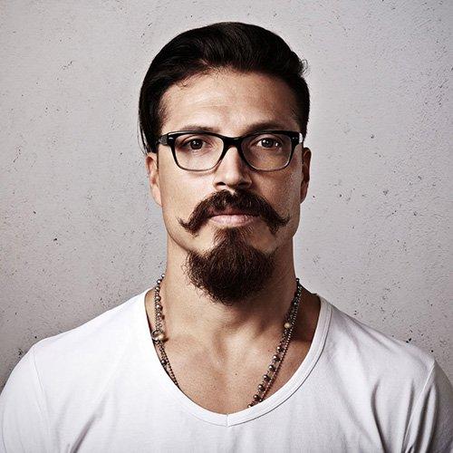 Van Dyke Beard Combined With Hipster Mustache