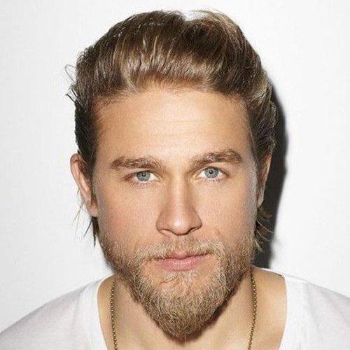 Van Dyke Beard Style With Semi Long Hair
