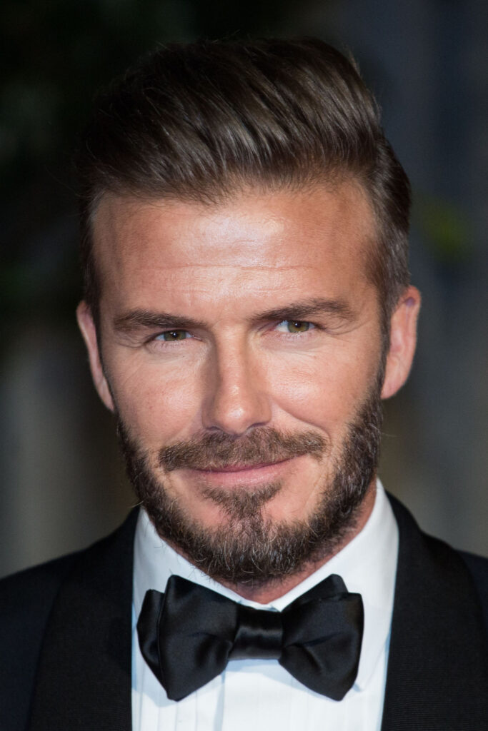 What Is The Comb Over David-Beckham