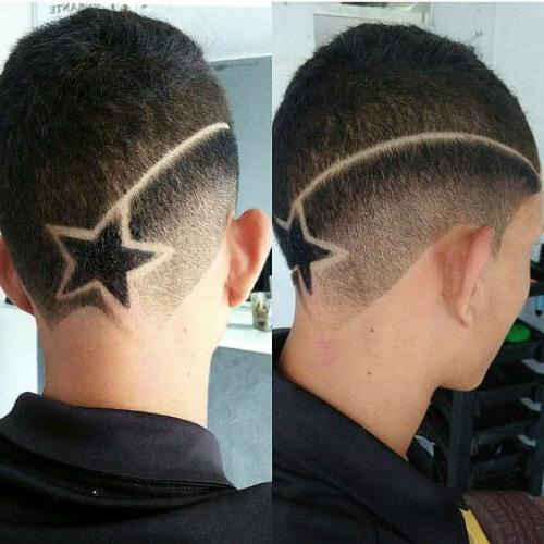 Brunette Star Designs Haircuts