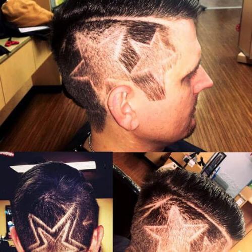 Double Stars Design Haircuts