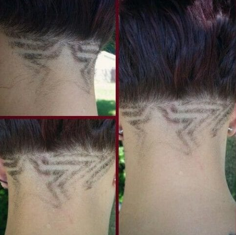 Faded Star Designs Haircuts