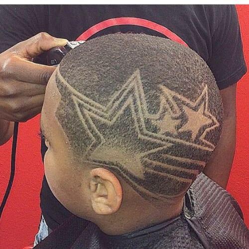 Fantasy Star Designs Haircuts