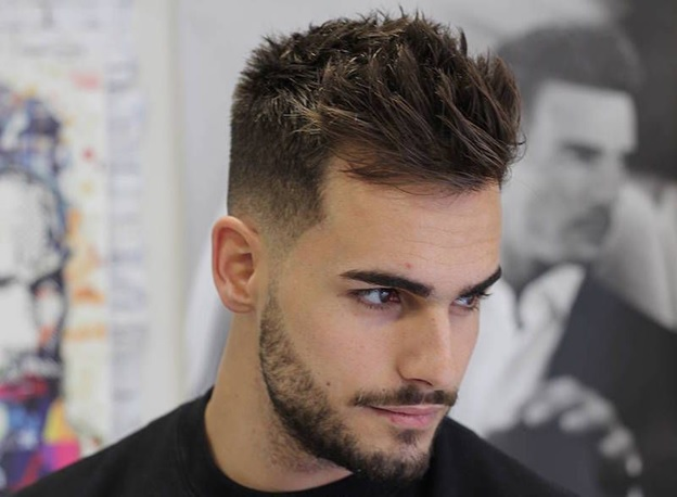 Feathered Haircut with Textures