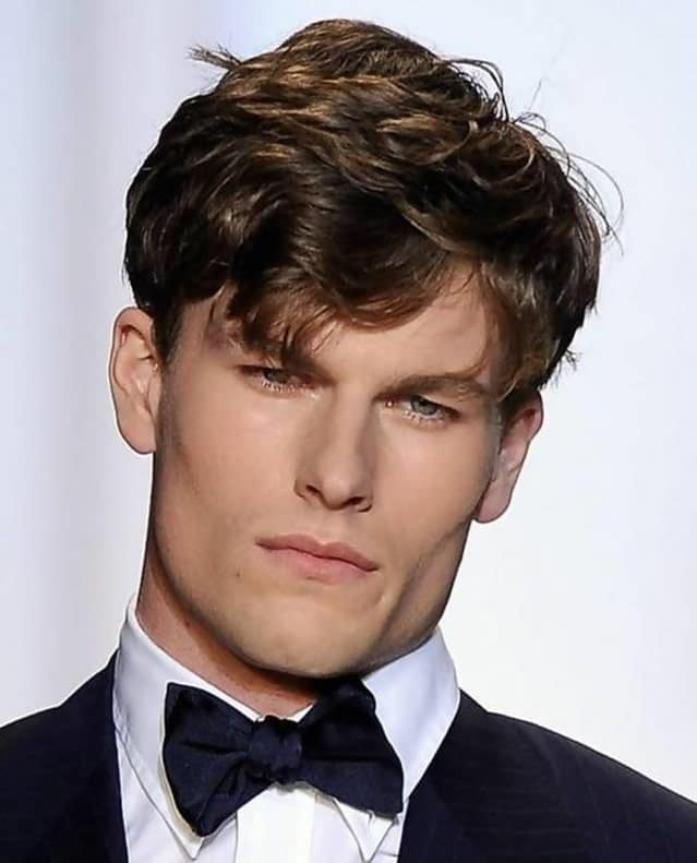 Formal Hairstyle feathered-hair-men
