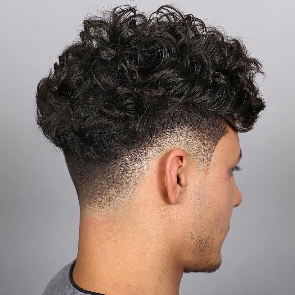 Low Fade Blowout mexican haircut