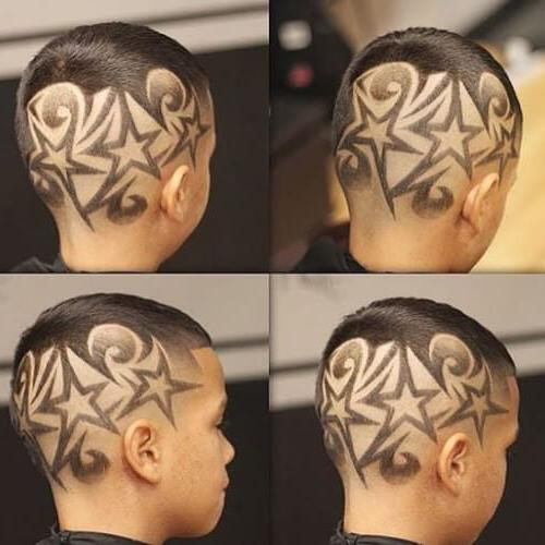 Outstanding Star Designs Haircuts