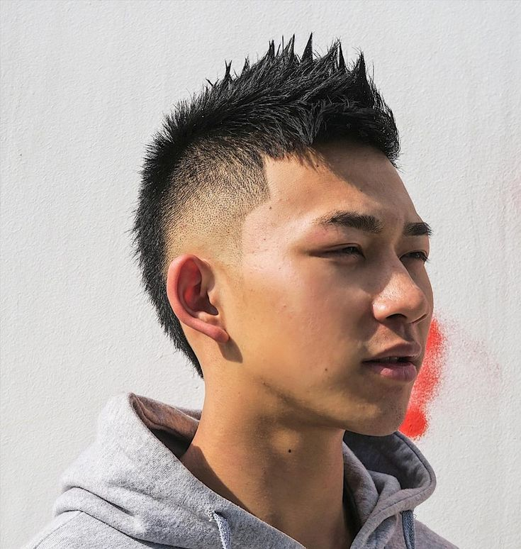 Spikey Faux Hawk hispanic men's haircuts