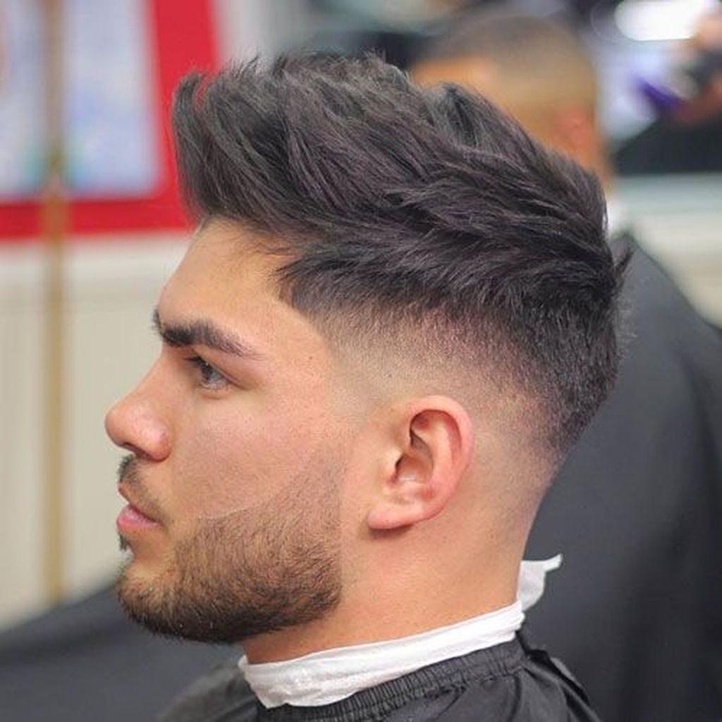 Spiky Hair High Fades