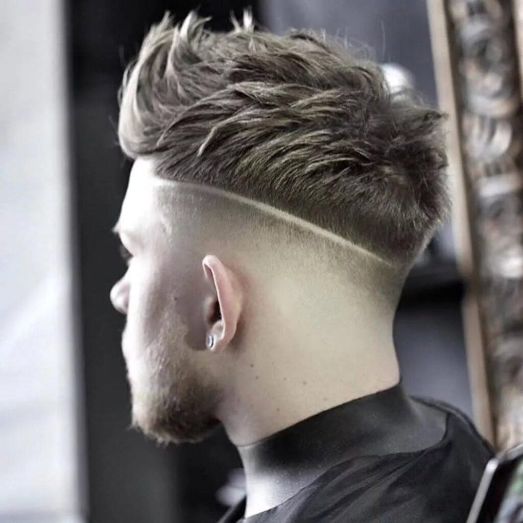 The White Taperfade Inspired Haircut